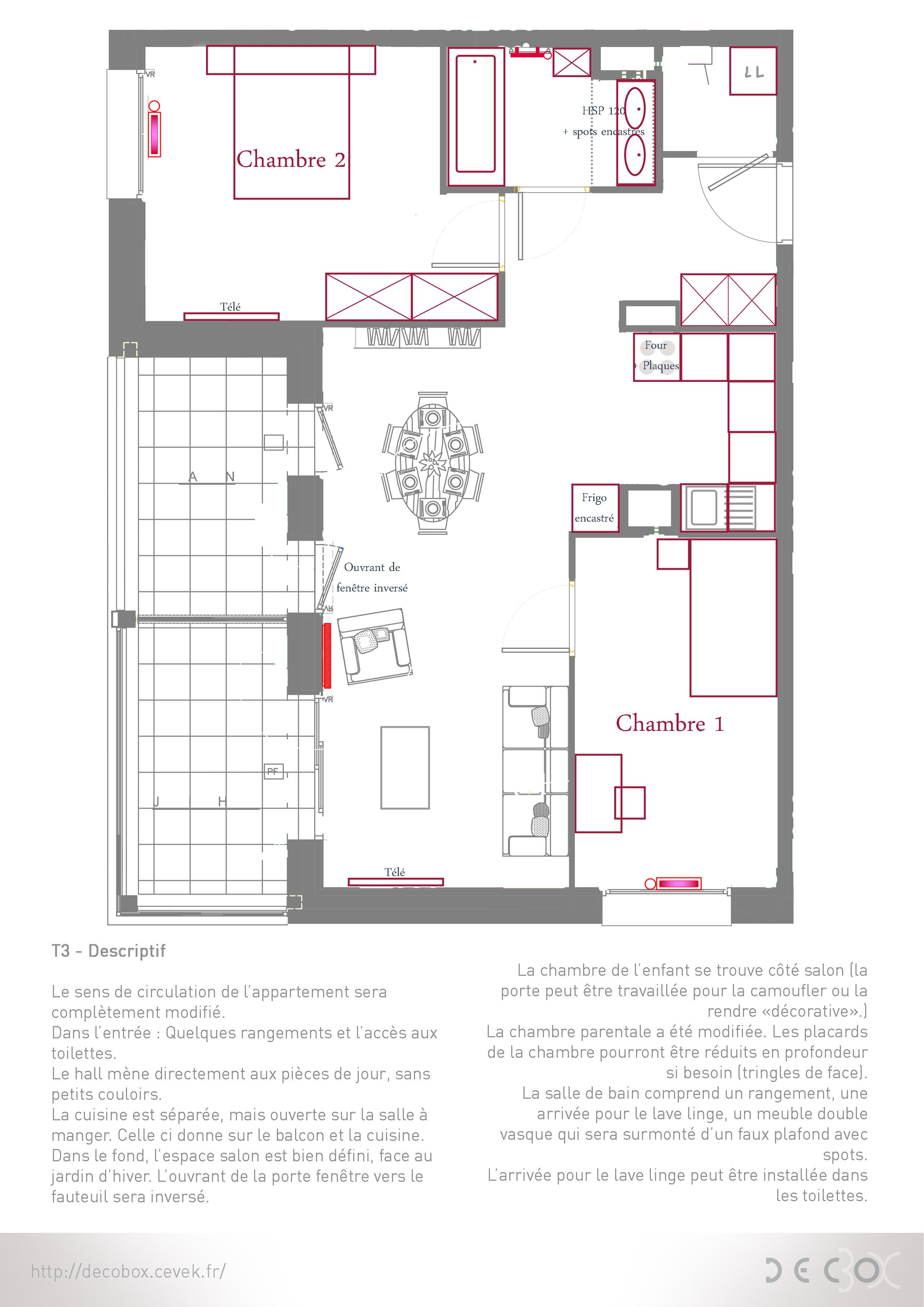 appartement sur plan c line vekemans cevek design architecte d 39 interieur grenoble. Black Bedroom Furniture Sets. Home Design Ideas