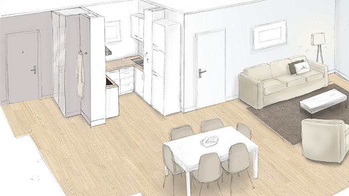 projet r u00e9habilitation appartement c u00e9line vekemans cevek