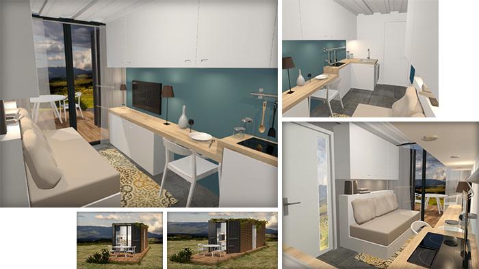Architecte dintrieur grenoble architecte d interieur for Studio container prix