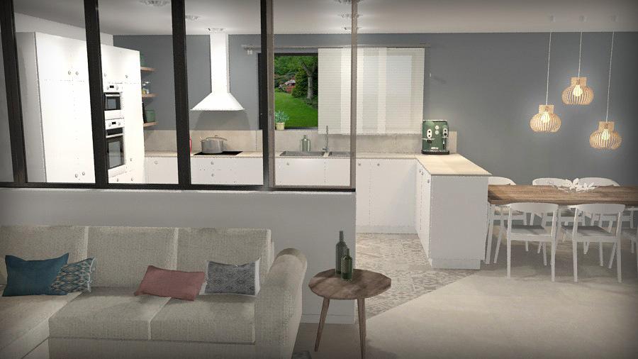 projet r habilitation appartement c line vekemans cevek. Black Bedroom Furniture Sets. Home Design Ideas