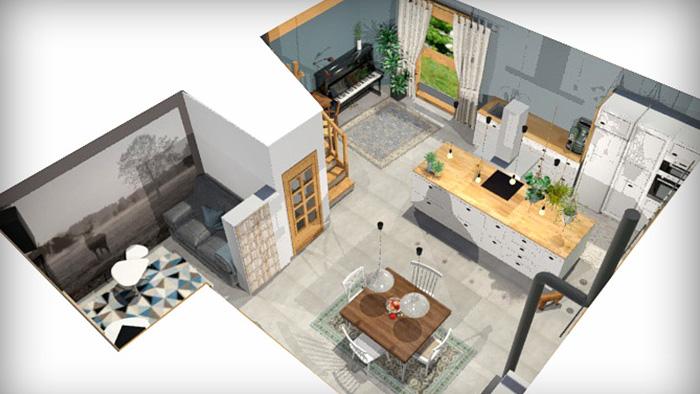 vue sur les montagnes c line vekemans cevek design. Black Bedroom Furniture Sets. Home Design Ideas
